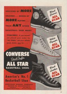 vintage converse ad