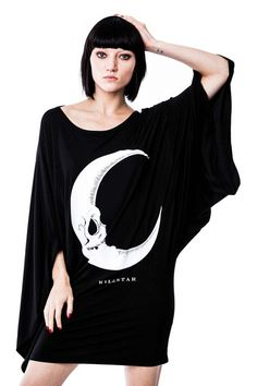 Dark Side Kimono Dress [B]