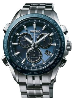 Seiko Astron Watch GPS Solar Chronograph Watch available to buy online from with free UK delivery. Best Watches For Men, Luxury Watches For Men, Cool Watches, Omega, Tag Heuer Monaco, Seiko Watches, Rolex Datejust, Beautiful Watches, Sport Watches