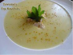 ΣΥΝΤΑΓΕΣ ΤΗΣ ΚΑΡΔΙΑΣ: Κοτόσουπα βελουτέ με κουνουπίδι - chicken soup with cauliflower