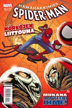 Hämähäkkimies - Spider-Man nro 2/2015. #sarjakuva #sarjakuvalehti #sarjis #egmont #marvel