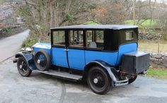 1927 Rolls-Royce Phantom I Hooper Limousine Maintenance/restoration of old/vintage vehicles: the material for new cogs/casters/gears/pads could be cast polyamide which I (Cast polyamide) can produce. My contact: tatjana.alic@windowslive.com
