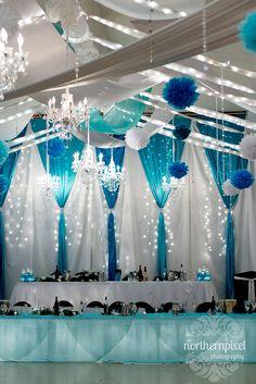 Wedding Decor - Hart Community Centre in Prince George, BC