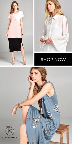 Looking for the perfect dress for that special occasion, or looking for a comfortable, casual outfit? See what we have got for you! New arrivals weekly. Love Kuza is an online boutique based out of Los Angeles, California that is run by two sisters. With a love for fashion and a goal to have our own shop, we started our little online boutique in late 2014. Our store features fashionable, unique, and comfortable clothing and accessories for all women to love and wear.