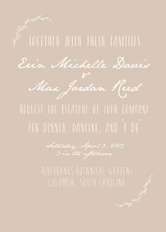Hey, I found this really awesome Etsy listing at https://www.etsy.com/listing/121506633/flora-fauna-printable-wedding-invitation