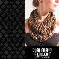 Accesorios de lanas y piedrería, Alma taller accesorios