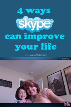 Skype is an amazing tool that can help improve your life in several ways! Here are a few you may not have thought of.