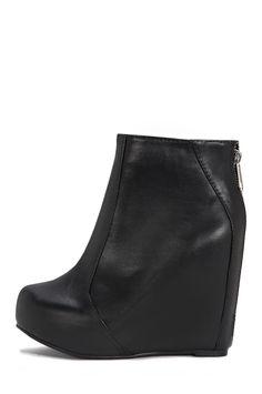 Jeffrey Campbell Shoes PIXIE Vault in Black