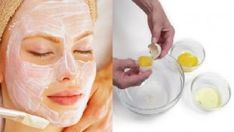 Egg white mask. Calms hormonal flare ups and shrinks pores with a straight shot of Vitamin A.