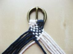 DIY Braided Cotton Belt - How Did You Make This | Luxe DIY