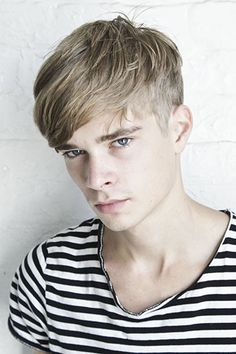 mens fringe #hair #menshair #hotguys