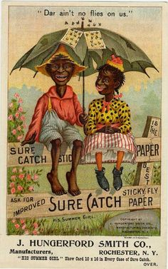 Vintage advertising for fly paper .jpg (481×770)