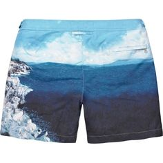 0c4e55d1d0 Bulldog - Roc Pool Photographic Mid-Length Swim Short Mens Designer Swimwear,  Mens Swim