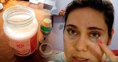 Domowy naturalny krem pod oczy łyżka oleju kokosowego, 2 kapsułki witaminy E, 2 krople olejku eterycznego z tymianku