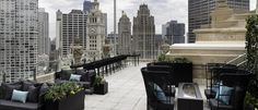 Rooftop restaurant on 22nd floor of London House Hotel
