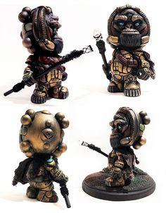 """The Watcher"" (Huck Gee ""Blank"" Custom) from Sean Viloria"