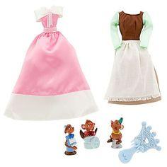 BNIB-Disney-Princess-Classic-Doll-Gown-Hair-Brush-Accessory-Set-Abu-Sebastian