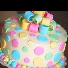 Gender Revealing Cake!