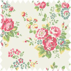 Spray Flowers Oilcloth