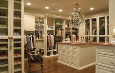 Closets – feminino, masculino, famosos, pequenos, veja modelos e dicas!