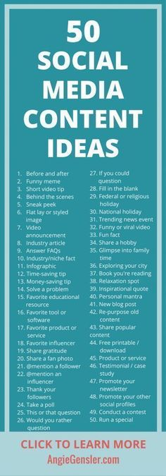 Get these 100 ideas of what to post on social media! - - Get these 100 ideas of what to post on social media! Get these 100 ideas of what to post on social media! Here are 50 ideas of what to post on social media if you're stuck! Social Marketing, Marketing Digital, Marketing Visual, Marketing Na Internet, Marketing Online, Influencer Marketing, Inbound Marketing, Marketing Quotes, Business Marketing