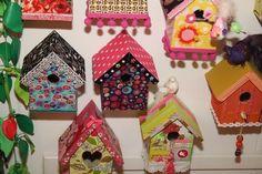 Huisjes www.babbelzzz.punt.nl Vogelhuisje / Birdhouse