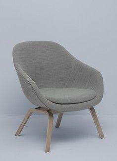 About a lounge chair - Kizuku - Hay