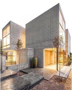 "13.1k Likes, 30 Comments - Amazing Architecture (@amazing.architecture) on Instagram: ""Villa 131 by Bracket Design Studio. ©️ Farshid Nasrabadi  #Iran  #house…"""