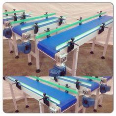 Conveyor Belt brand PlasNEC Modular System Modular Belt model ModuBELT