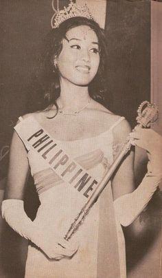 Pinay Beauty of the Week – Gemma Cruz Araneta Jose Rizal, From Rags To Riches, Filipino Culture, Filipina Beauty, Hawaiian Tropic, Filipiniana, Miss World, Beautiful Inside And Out, Beauty Pageant