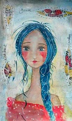 Tracy Easson: Art Journaling with DecoArt Media . . .