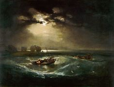 William Turner-Pêcheurs en mer