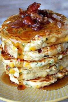 Bacon And Corn Griddle Pancakes Recipes