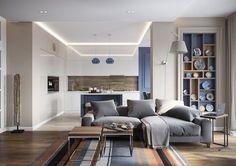 Un appartement contemporain à St Petersbourg - PLANETE DECO a homes world