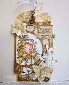 Into my happy space: A Tag for Xmas - DTwork for Marvelous Magnolia challenge