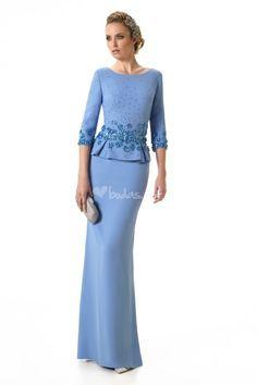 Godmother dress by Raffaello – Gabal Elegant Outfit, Elegant Dresses, Pretty Dresses, Formal Dresses, Mother Of Groom Dresses, Mothers Dresses, Vestidos Fashion, Fashion Dresses, Vestidos Con Crop Top