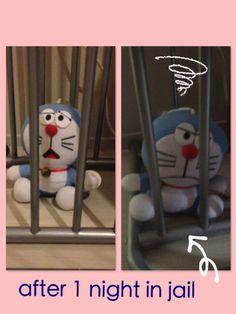 Doraemon: not so happy