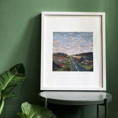 Collage Artwork, A4 Size, Algarve, A3, Portugal, Landscapes, Art Prints, Printed, Paper