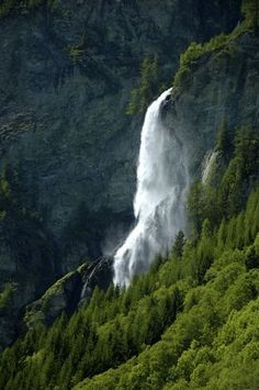 Die Krimmler Wasserfälle - the highest waterfalls in Europe