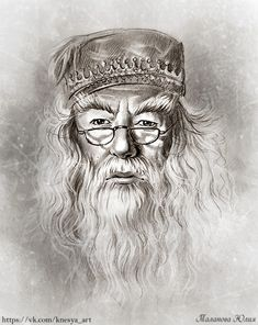 Professor Albus Dumbledore by Dobby Harry Potter, Fanart Harry Potter, Harry Potter Tattoos, Harry Potter Portraits, Harry Potter Sketch, Wallpaper Harry Potter, Arte Do Harry Potter, Harry Potter Artwork, Harry Potter Pictures