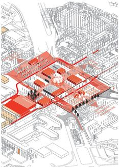 AXO_URB_Paris' CBD La Défense Strategic Masterplan | Masterplan/Strategic Plan | Projects | AWP:
