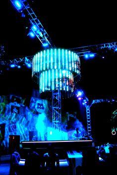 Tron style DJ booth #tron #electro
