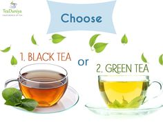 Choice of #tea is subjective. Let's see which tea wins!! Let us know about your choice in comment section.