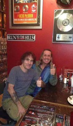 Steve and Nicko at Nicko 's restaurant december 2014 - Florida