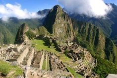 Macchu Picchu. My first Wonder of the World....and truly a wonder it is.