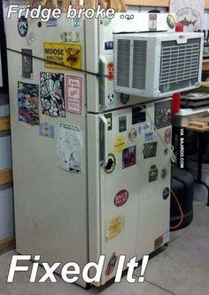 funny ac in fridge fail 21 Pics Of Funny Fails