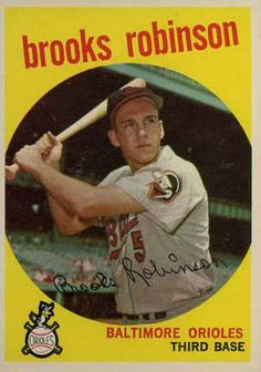 baseball cards brooks robinson 1967 | ... set name 1959 topps card size 2 1 2 x 3 1 2 number of cards in set 583