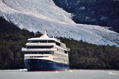 Voor velen is een cruise langs de spectaculaire fjorden en gletsjers van Patagonië een verankerd item op de bucketlist. Ushuaia, Cruises, Rice, Cruise