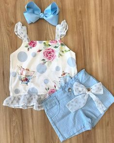Little girl outfits Little Girl Outfits, Toddler Girl Outfits, Little Girl Fashion, Little Girl Dresses, Kids Outfits, Kids Fashion, Girls Dresses, Cute Outfits, Cute Baby Clothes