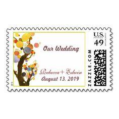 Tree Custom Postage and Tree Zazzle Custom Stamps